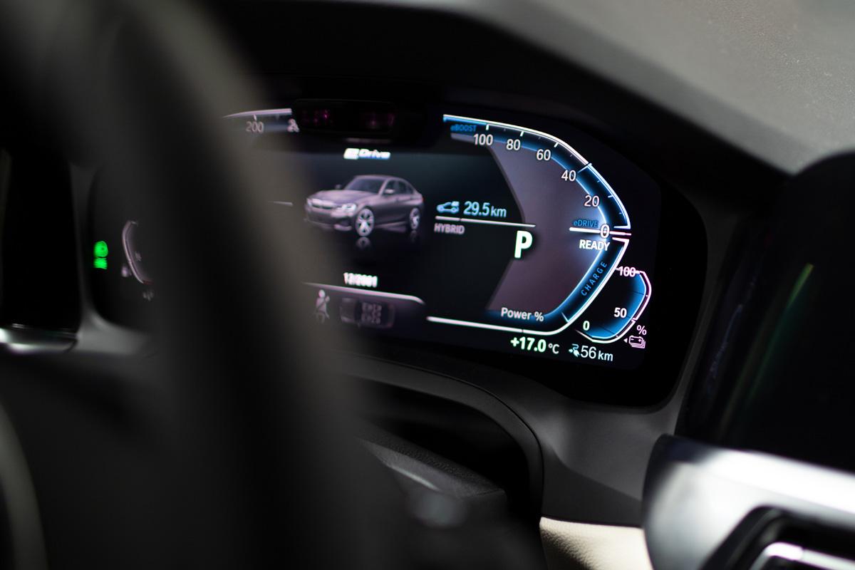 BMW híbrido cuadro mandos