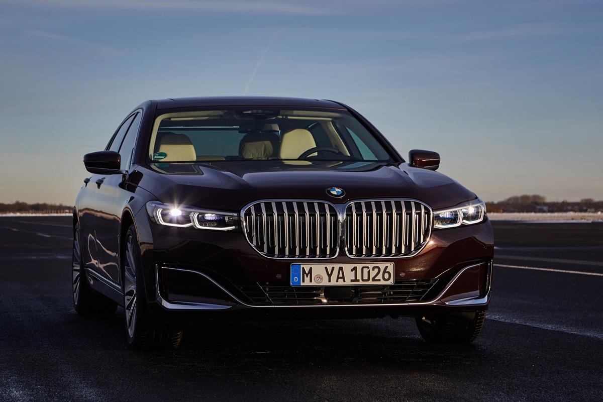 BMW Serie 7 híbrido