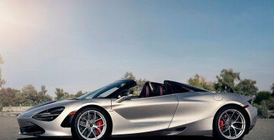 McLaren 720S Spider plata
