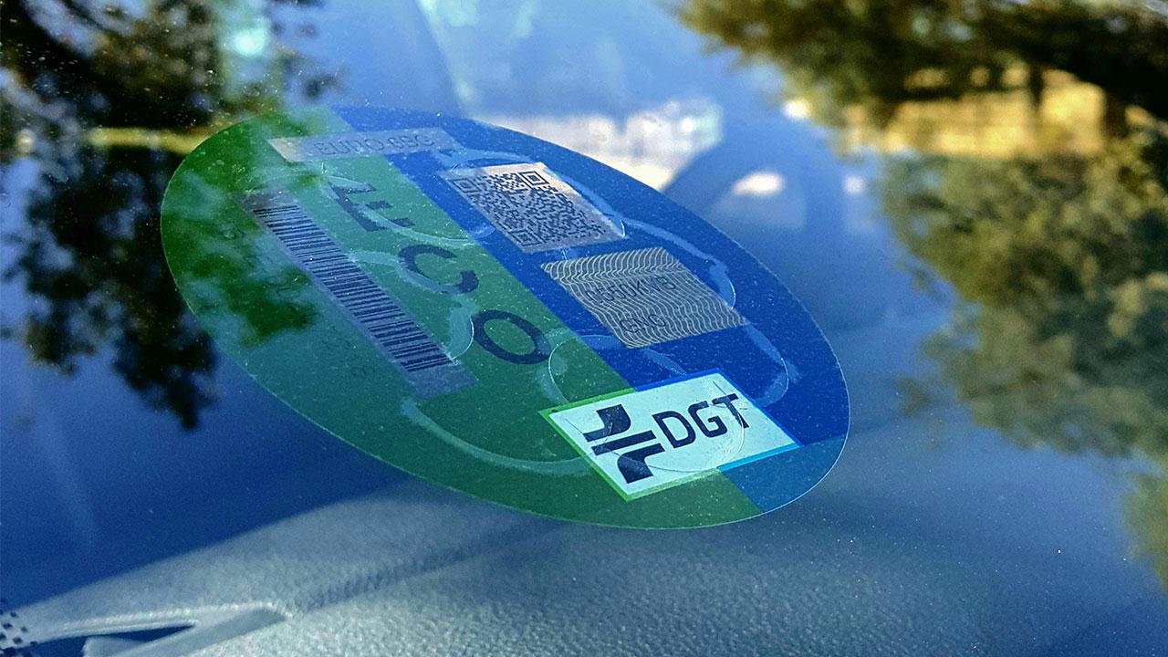 como funciona un coche de gas etiqueta eco
