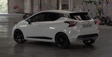 Consumo del Nissan Micra trasera