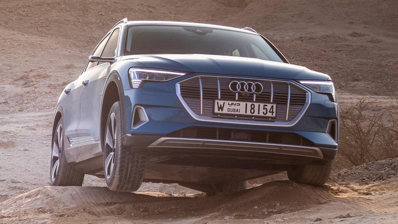 Mejores coches eléctricos 2020 Audi e-tron
