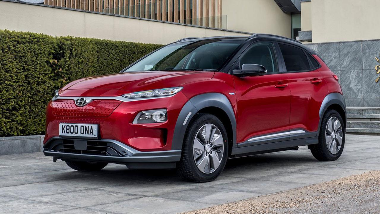 Mejores coches eléctricos 2020 Hyundai Kona EV