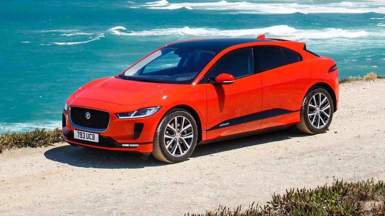Mejores coches eléctricos Jaguar I-Pace