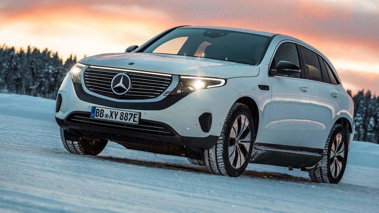 Mejores coches eléctricos 2020 Mercedes EQC