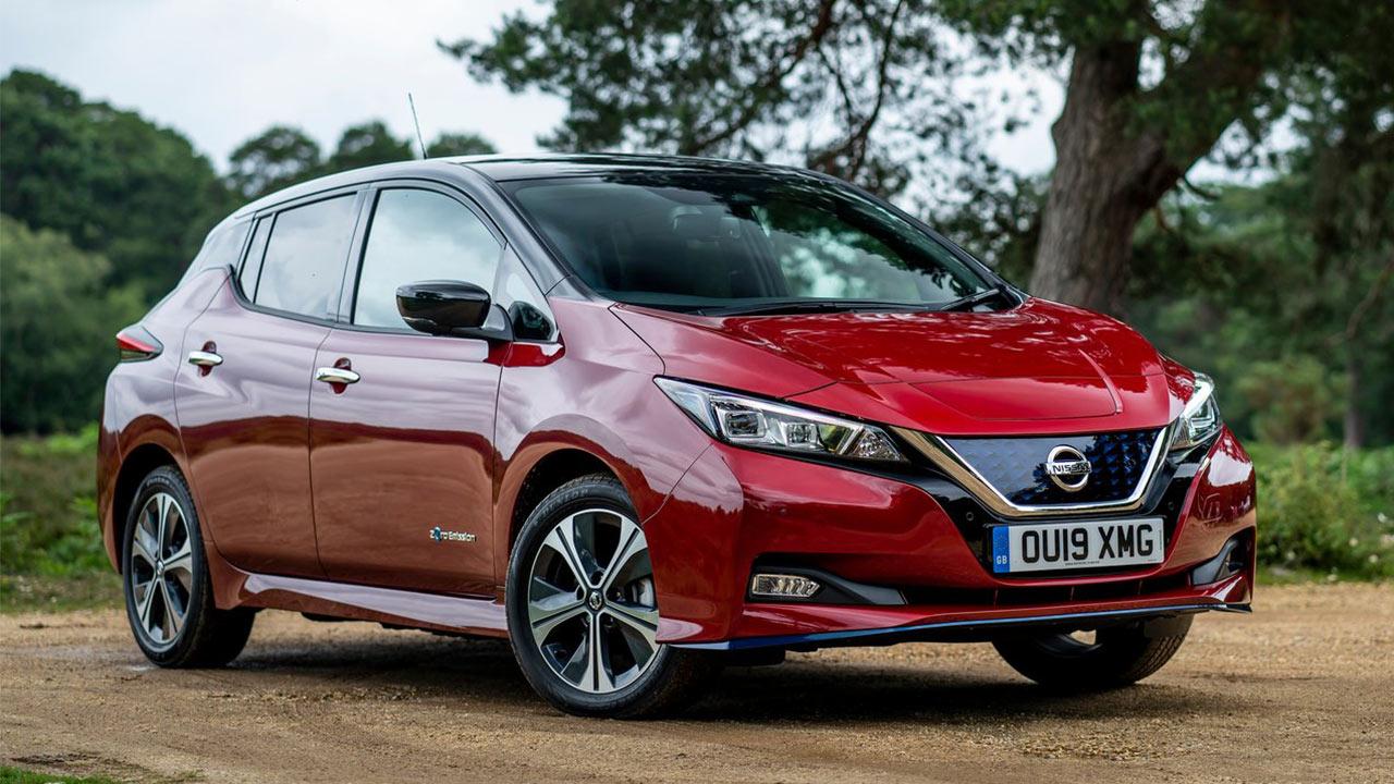 Mejores coches eléctricos 2020 Nissan Leaf