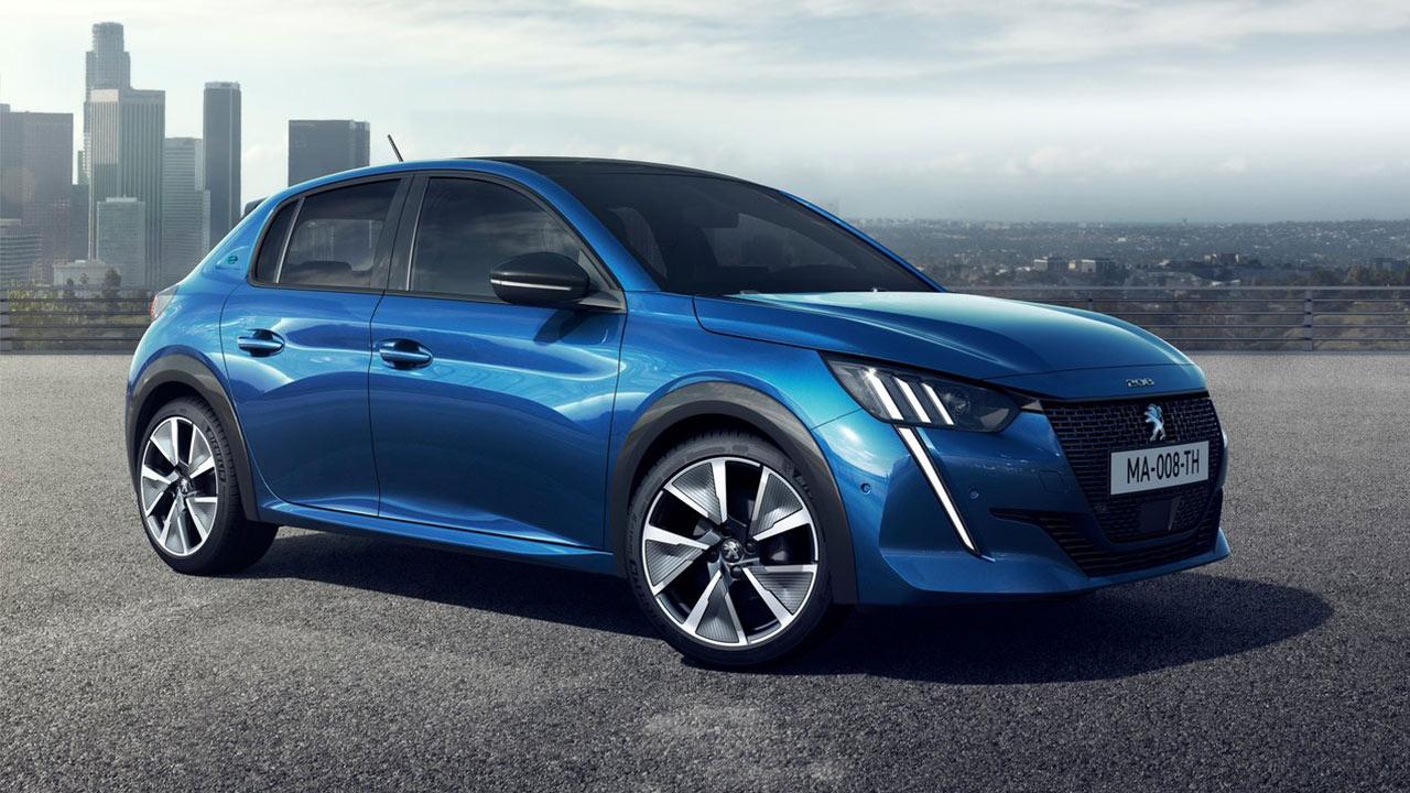 Mejores coches eléctricos 2020 Peugeot e-208