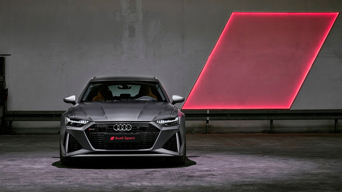 Audi RS6 2020 frontal