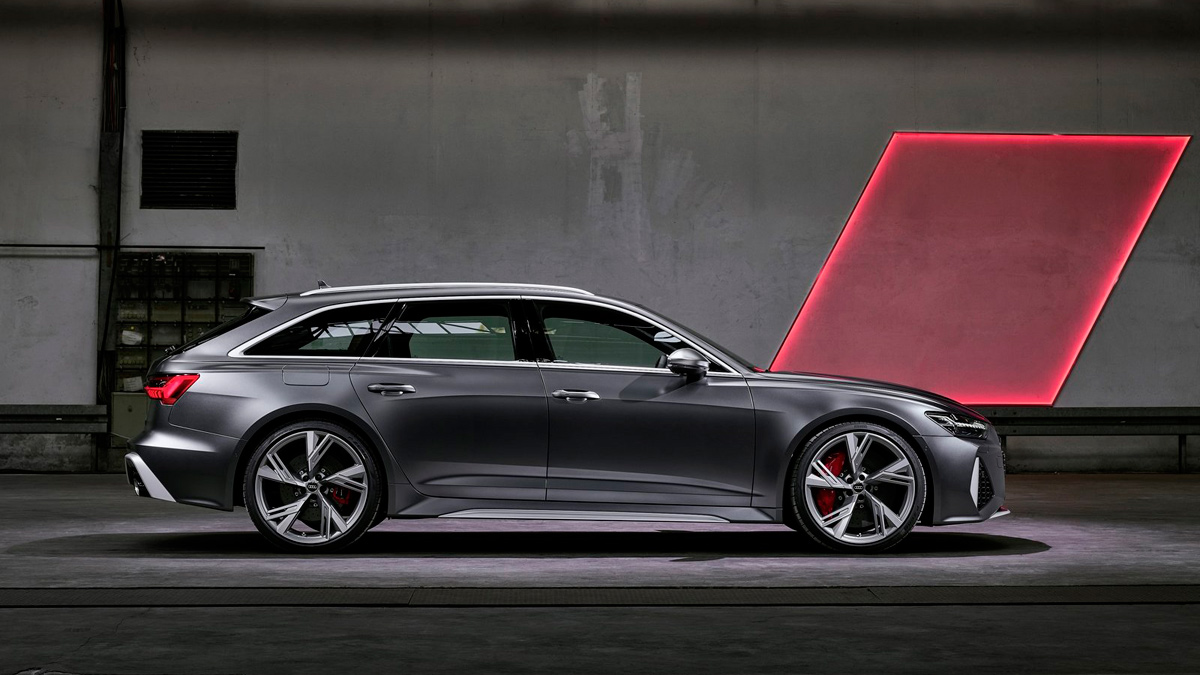 Audi RS6 2020 lateral
