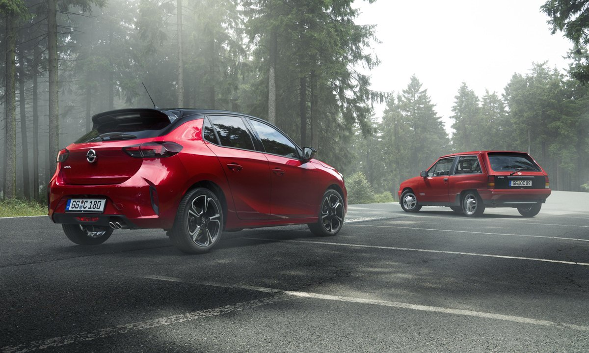 Opel Corsa GS Line zaga