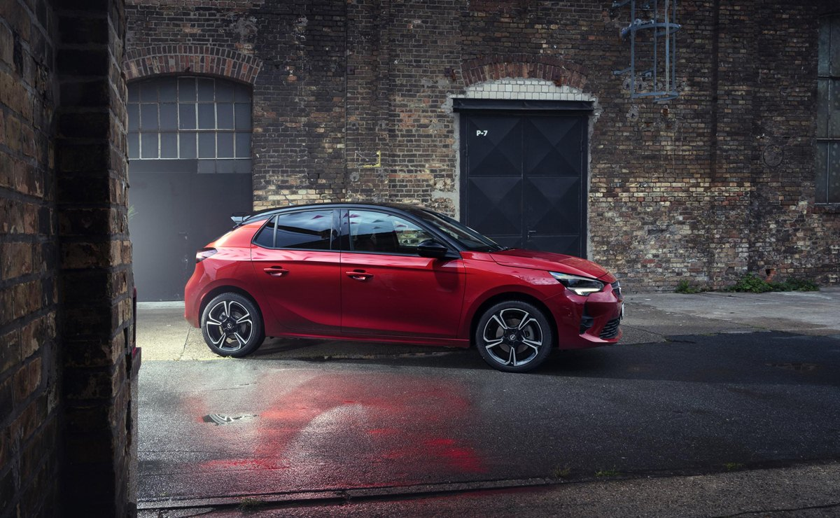 Opel Corsa GS Line lateral