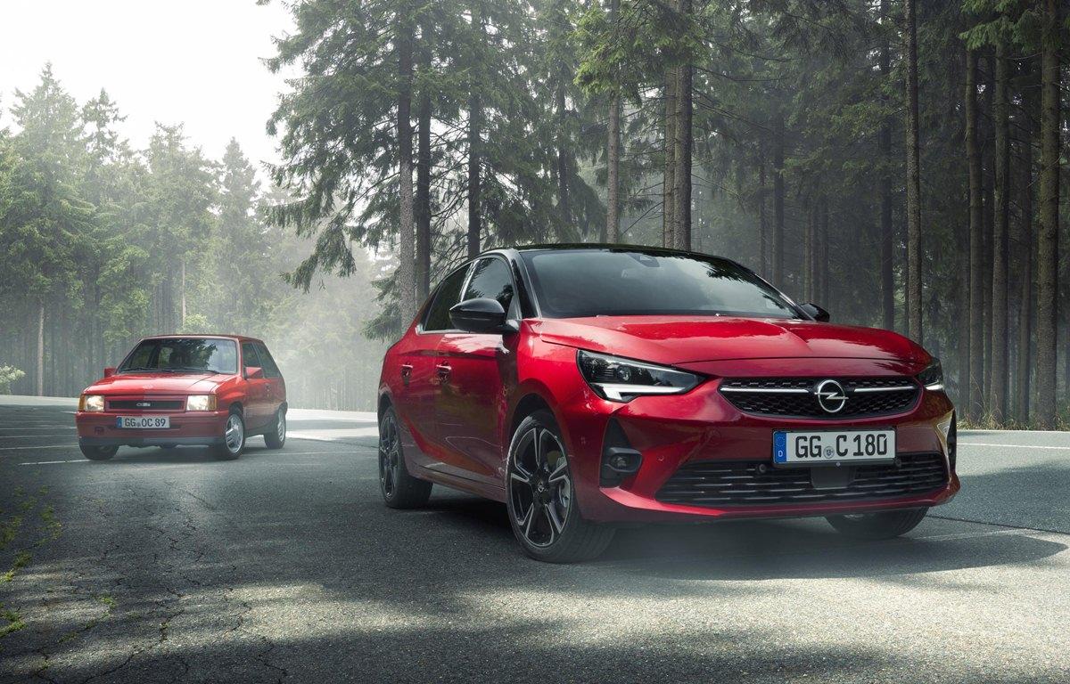 Opel Corsa GS Line historia