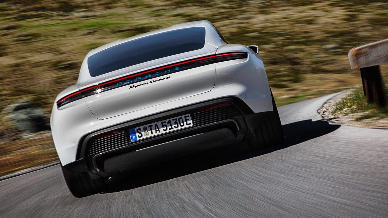 Mejores coches eléctricos 2020 Porsche Taycan