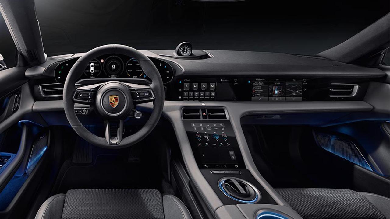 Porsche Taycan 2020 interior