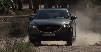 Prueba del Mazda CX-5 dinámica offroad