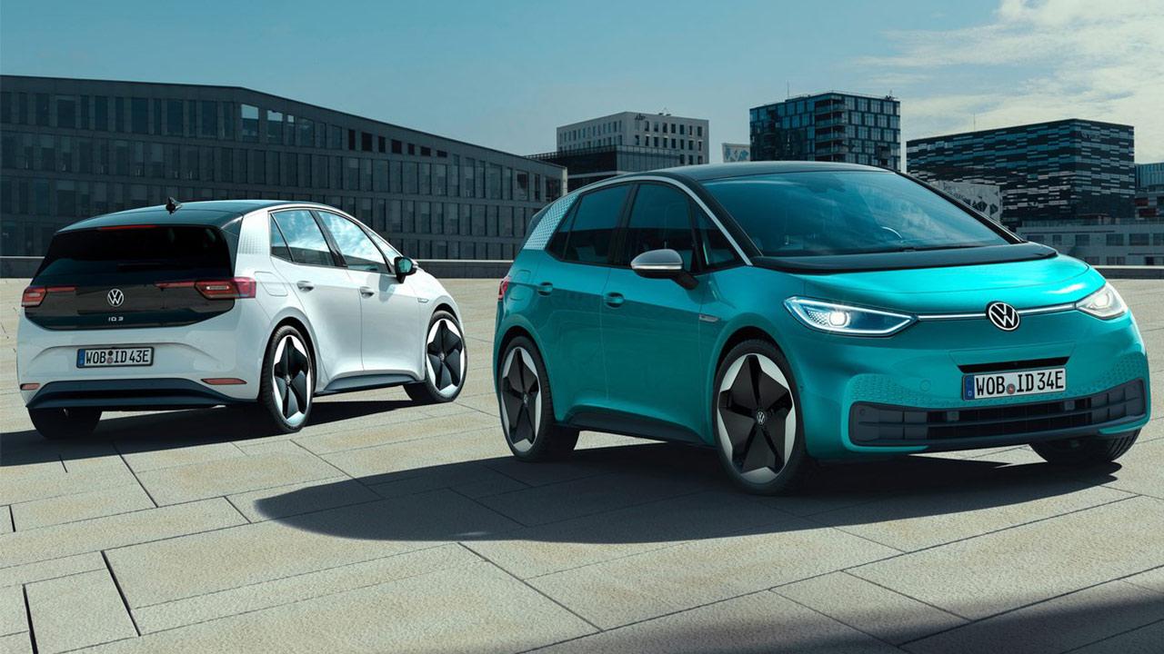 mejores coches eléctricos 2020 volkswagen id.3
