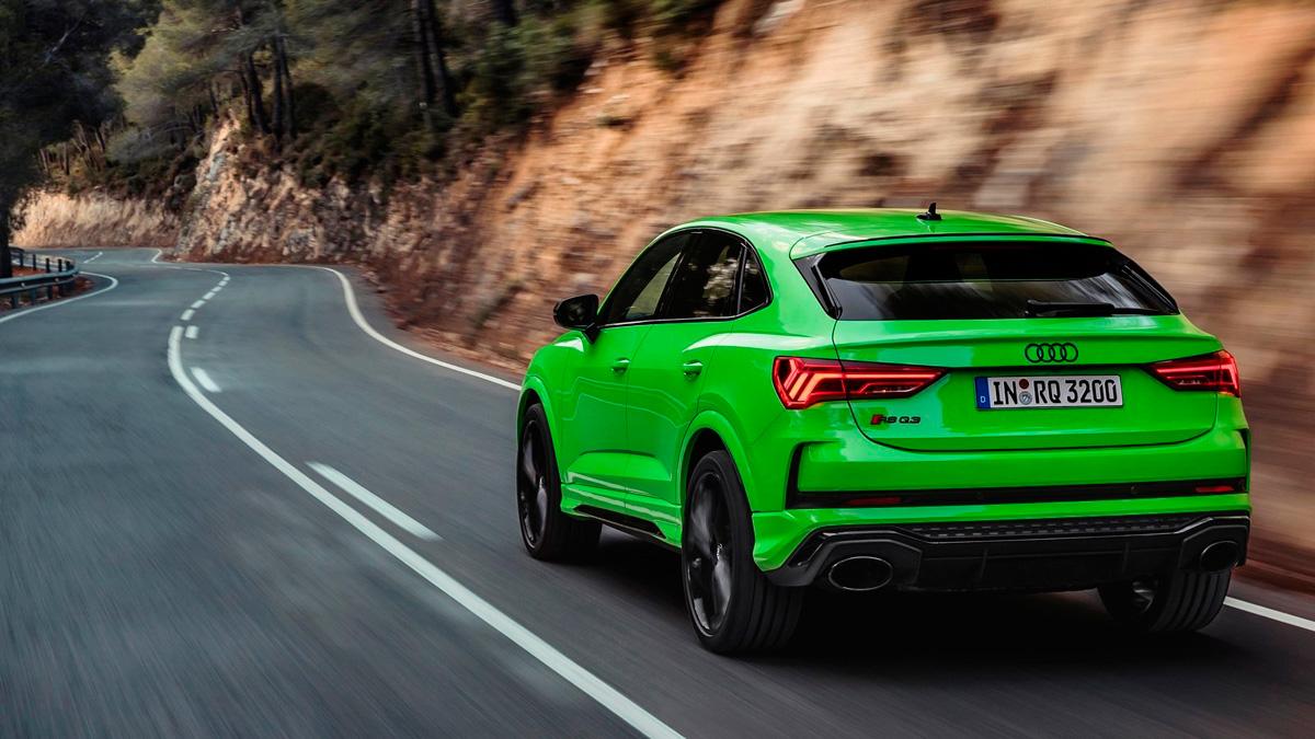 Audi RSQ3 2020 sportback trasera