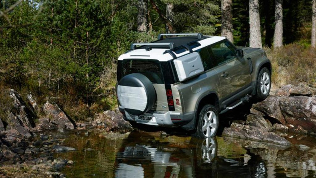 rivales Land Rover defender 2020