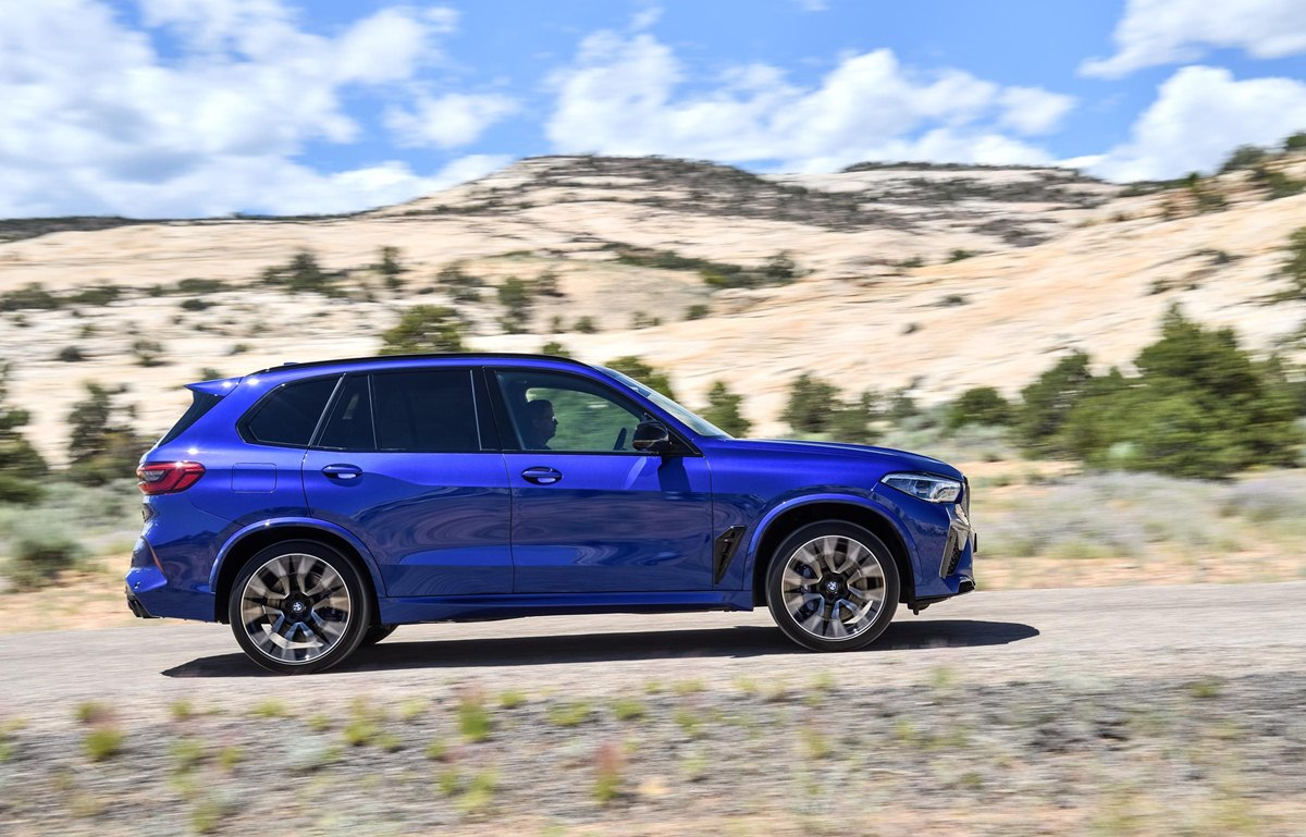 BMW X5 M lateral