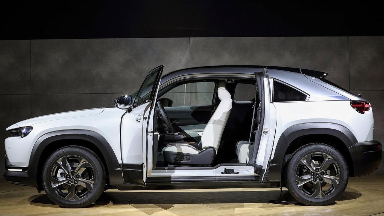 Mazda MX-30 mejores coches electricos