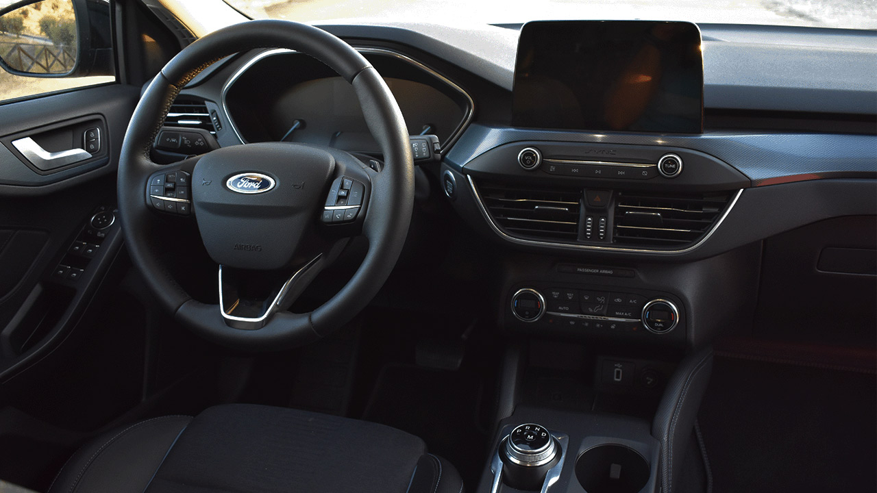 Prueba del Ford Focus Active interior