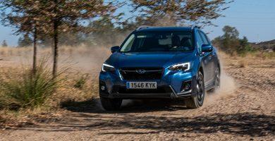 prueba del Subaru xv glp