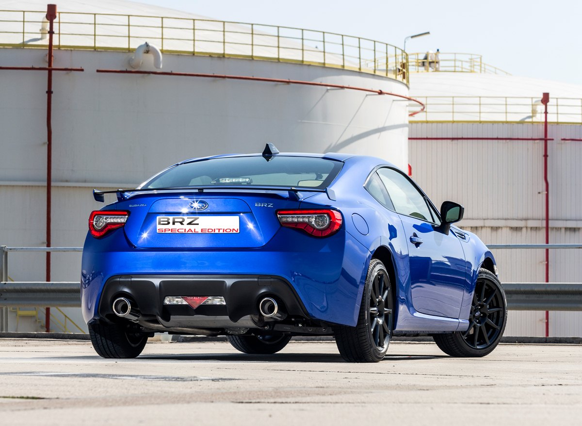 BRZ Special Edition trasera