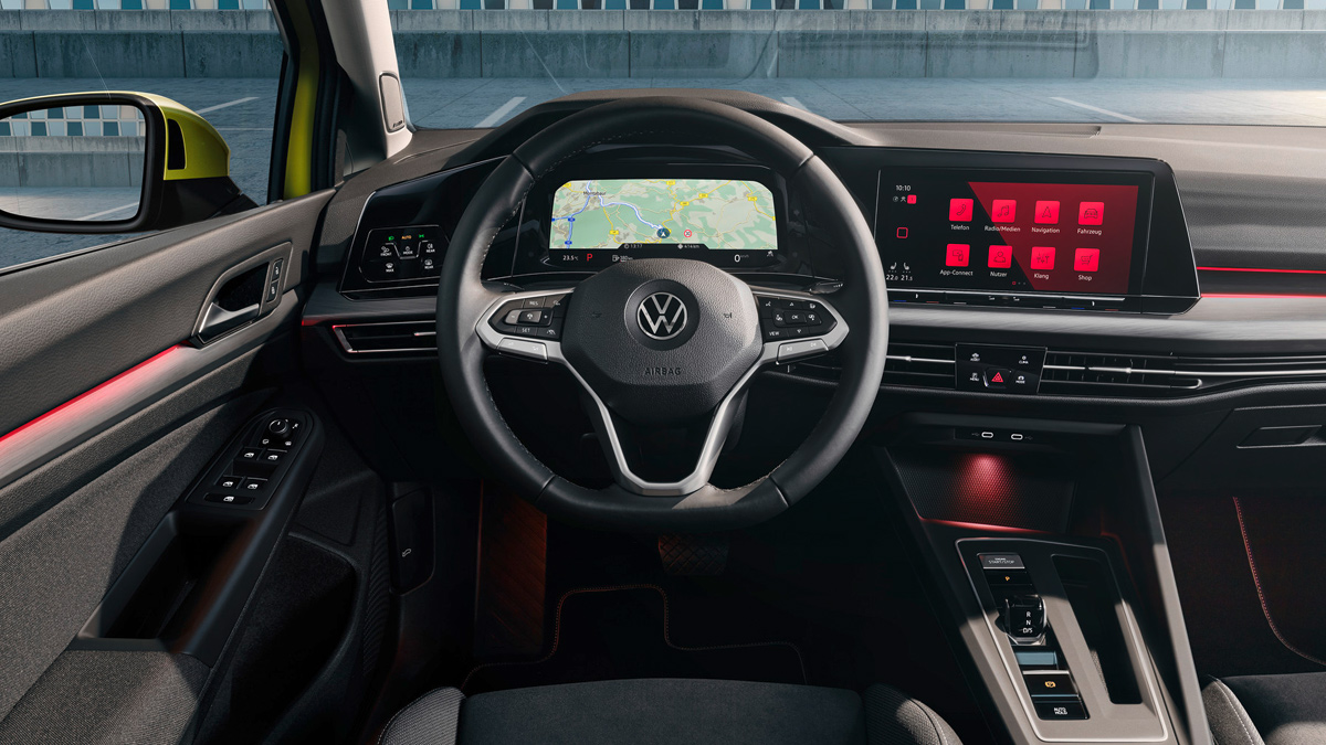 Volkswagen Golf 2020 interior