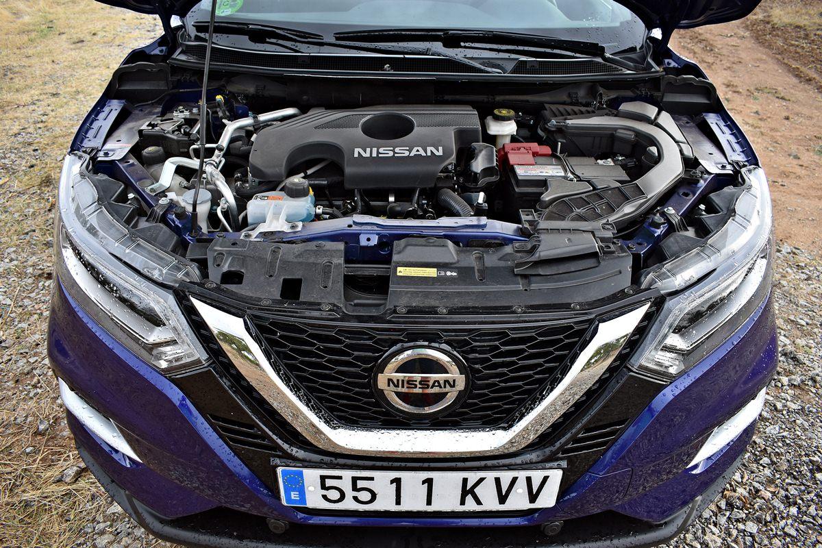 Prueba del Nissan Qashqai 2019 motor