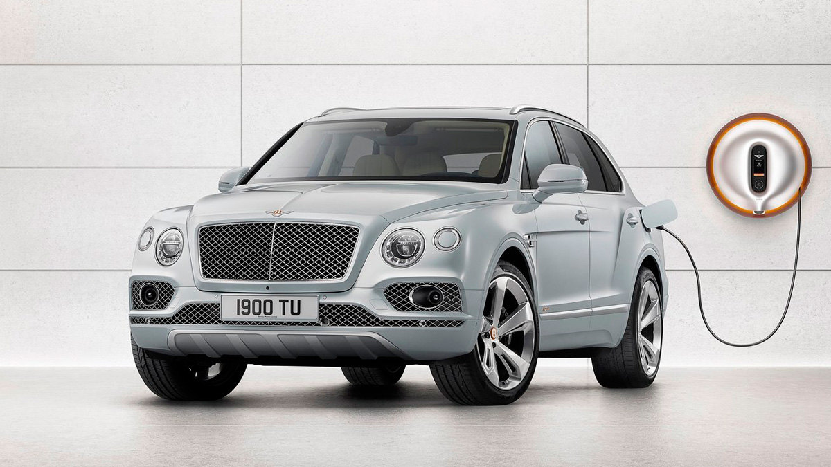 Coches híbridos enchufables: Bentley Bentayga PHEV