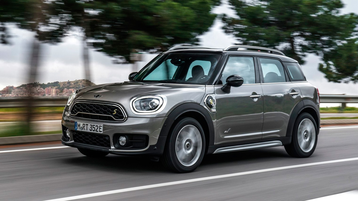 Coches híbridos enchufables: Mini Countryman SE