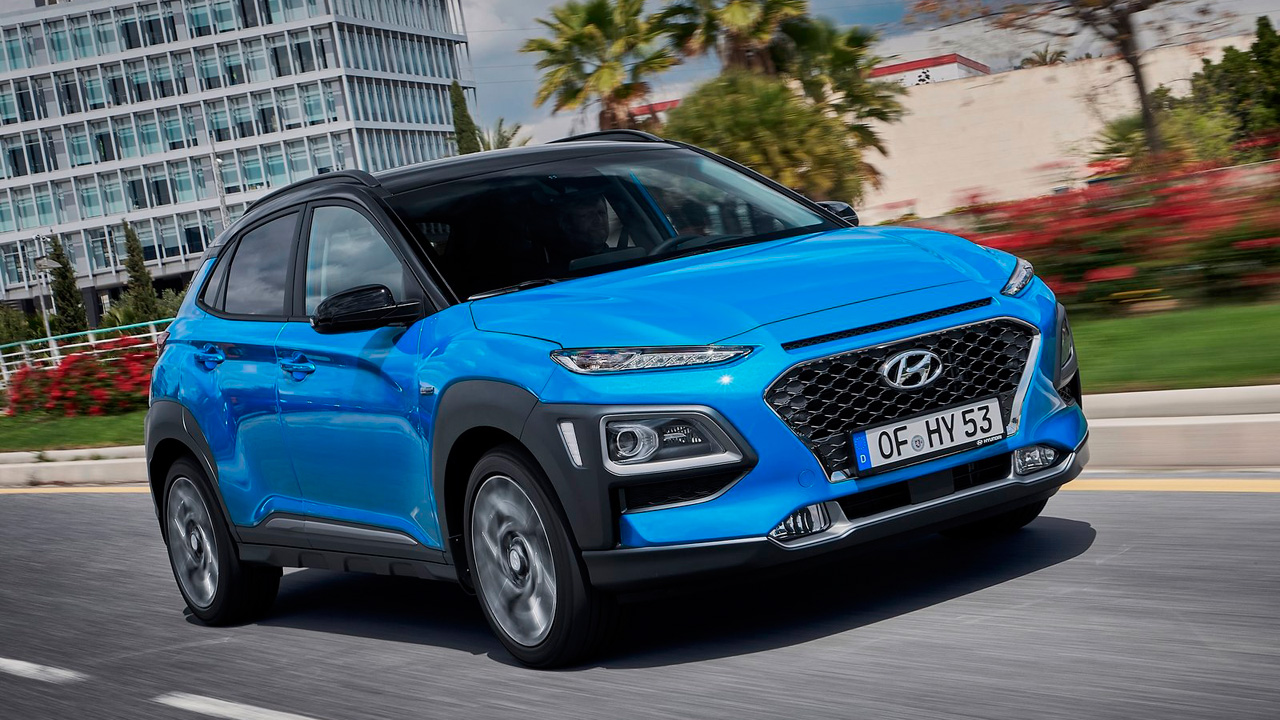 Mejores coches híbridos: Hyundai Kona hybrid