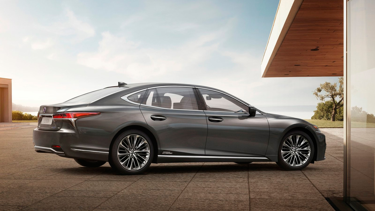 Mejores coches híbridos: Lexus LS