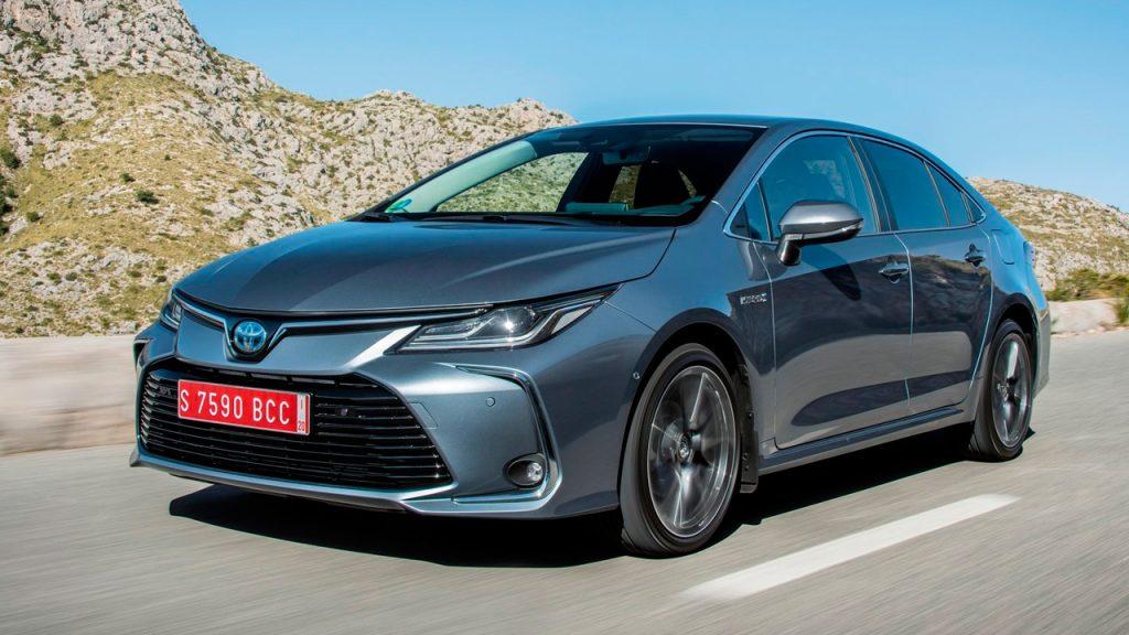 Mejores coches híbridos: Toyota Corolla Sedan