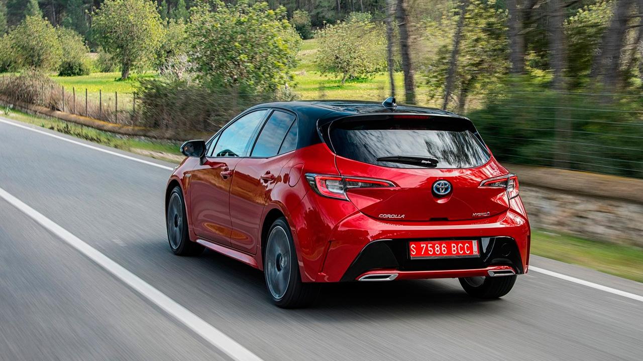 Mejores coches híbridos: Toyota Corolla