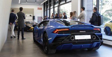 Presentación Huracán RWD Lamborghini Barcelona
