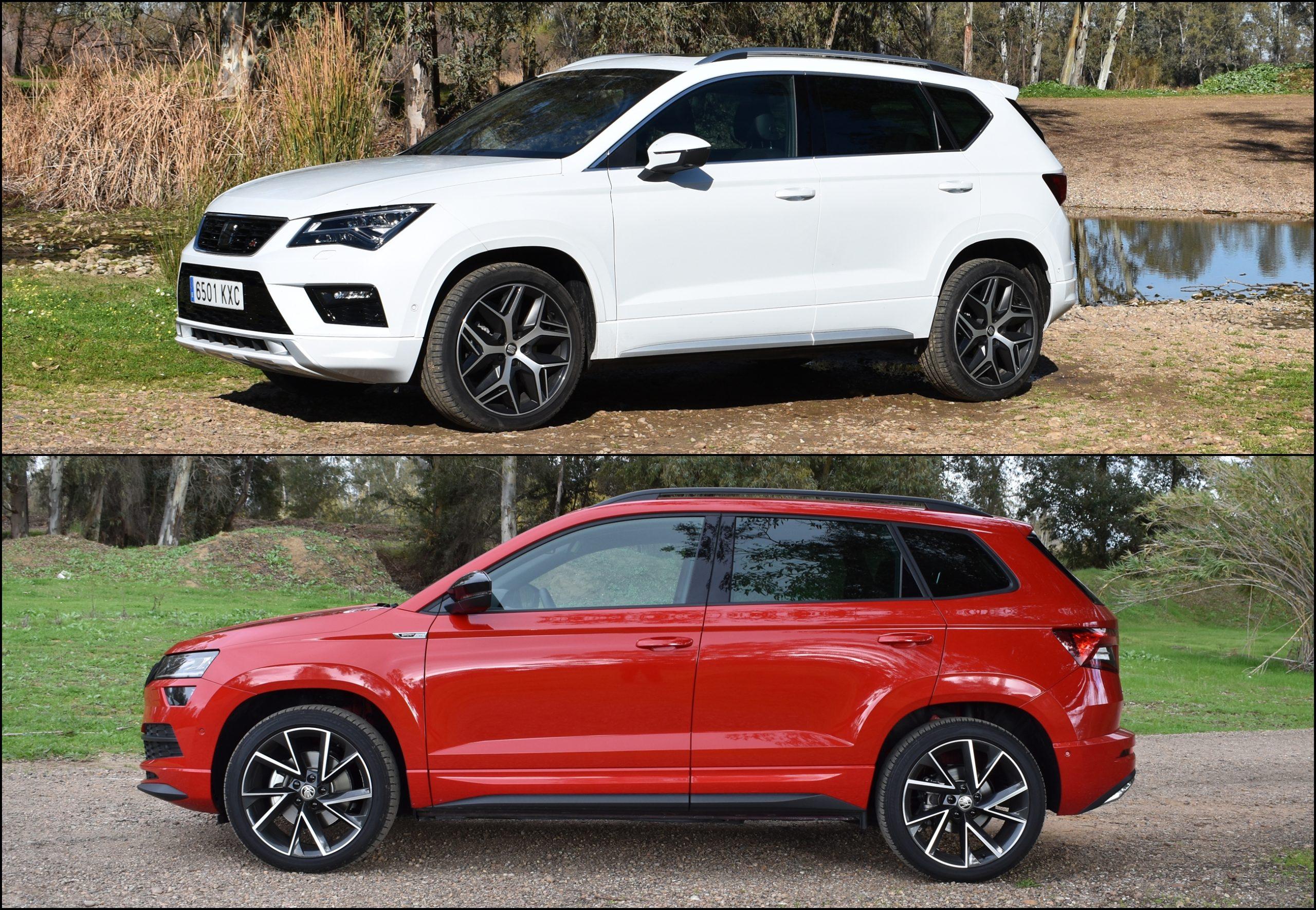 ¿Seat Ateca o Skoda Karoq? Comparativa de SUV compactos en ...