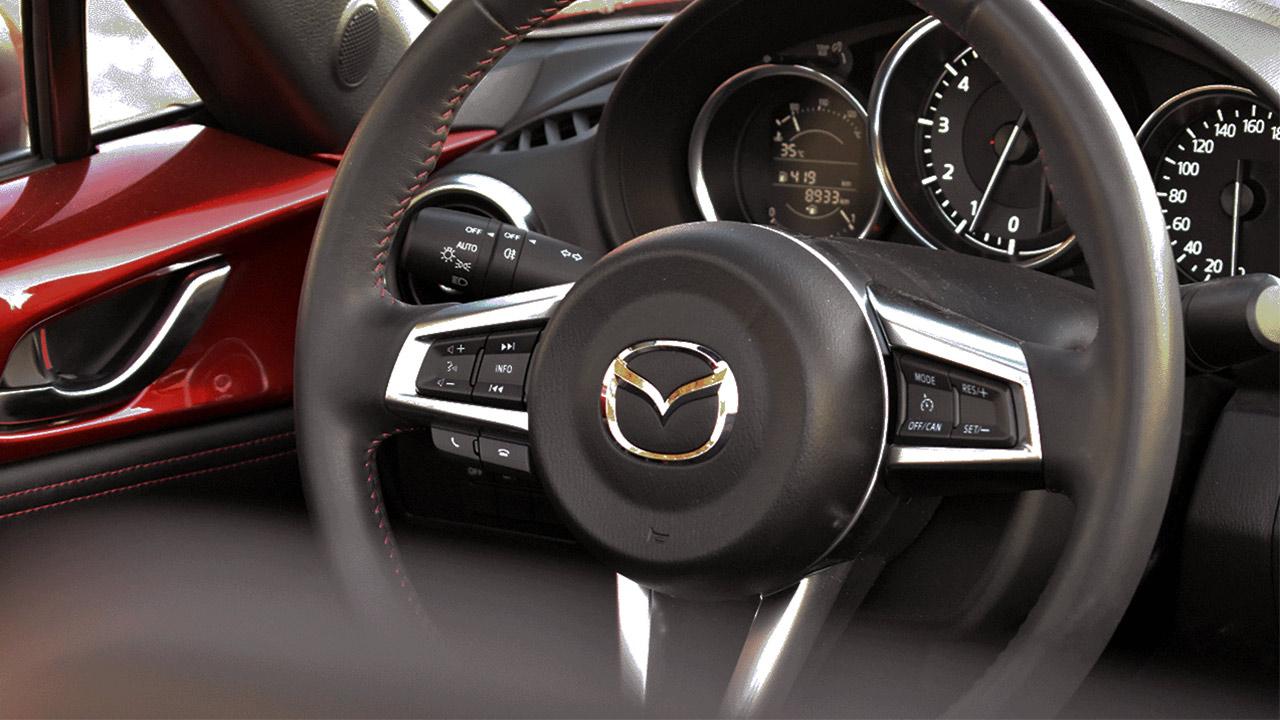 prueba del Mazda mx-5 2.0 184 cv