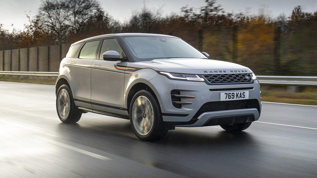 Range Rover Evoque híbrido enchufable