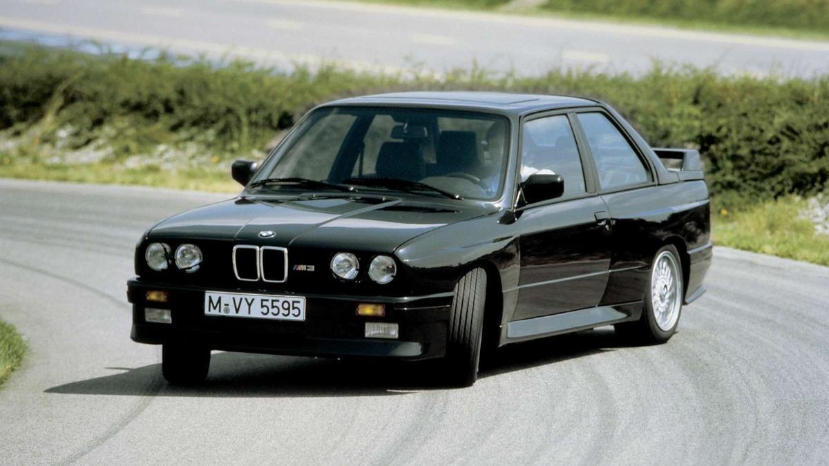 Mejores deportivos años 80 BMW M3 E30