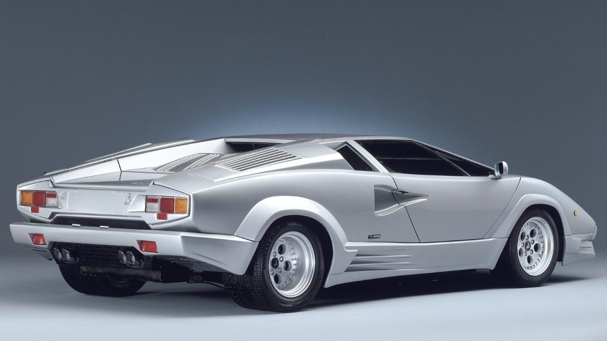 Mejores deportivos años 80 Lamborghini Countach