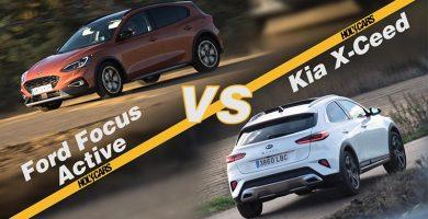 Comparativa Ford Focus Active VS Kia XCeed 2020