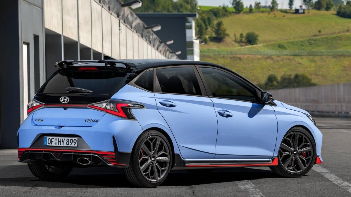 Hyundai i20 N 2021 trasera
