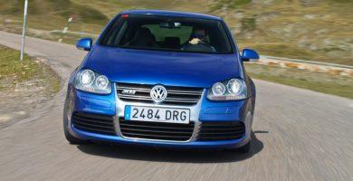 Prueba Volkswagen Golf R32 curva