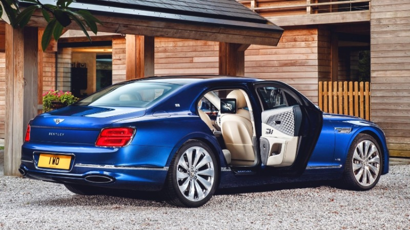 coches lujo 2021: Bentley Flying Spur