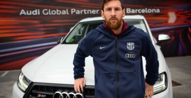 Coches de Messi