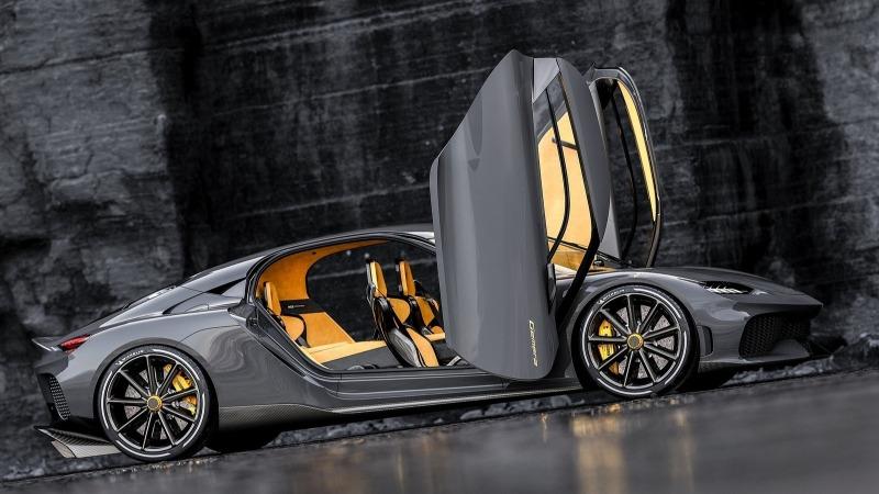 coches lujo 2021: Koenigsegg Gemera