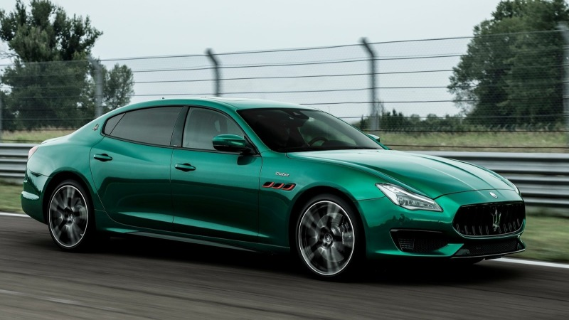 coches lujo 2021: Maserati Quattroporte Trofeo