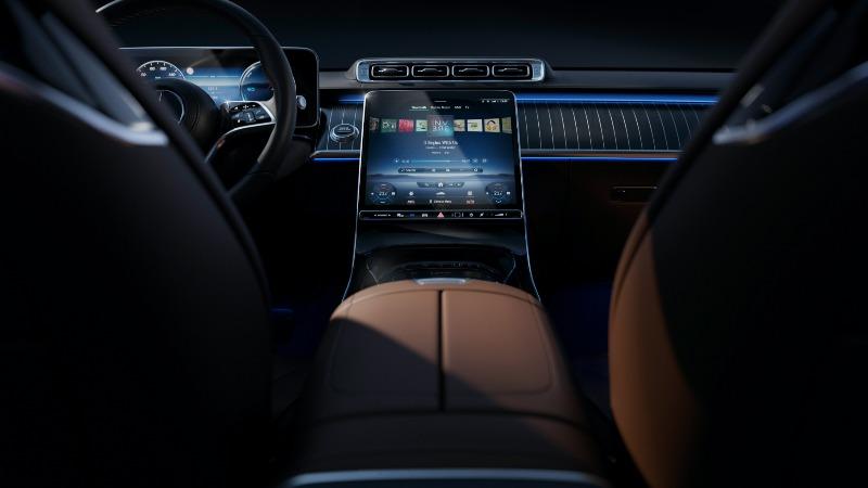coches lujo 2021: Mercedes Clase S