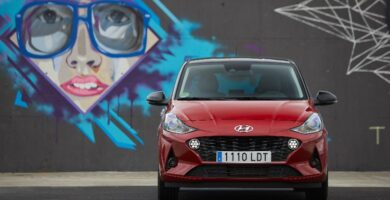 Prueba Hyundai i10 2020 frontal